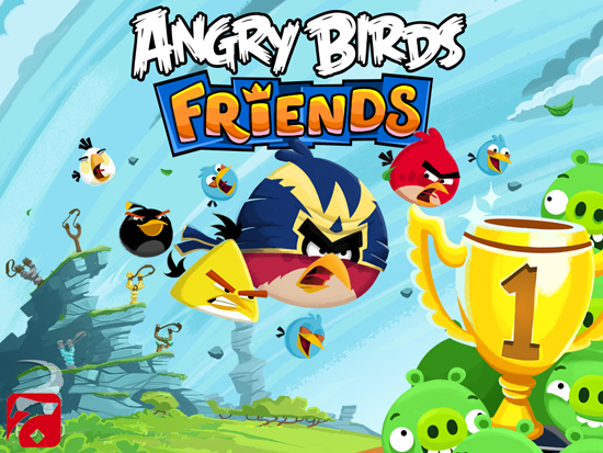 Angry Birds Friends بازی پرندگان خشمگین اندروید Angry Birds Friends v1.5.0