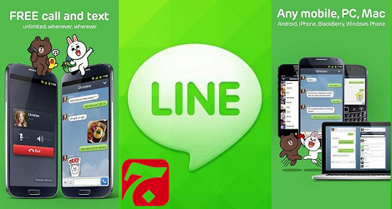 Line Free Calls Messages دانلود برنامه لاین اندروید LINE: Free Calls & Messages v4.6.1