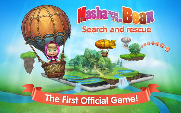 Masha: search and rescue