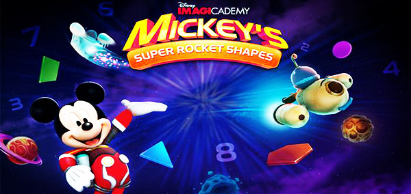 Mickey's Super Rocket Shapes