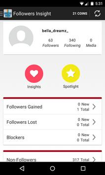 Follower Insight for Instagram 1