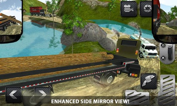 4x4 Logging Truck Real Driver2