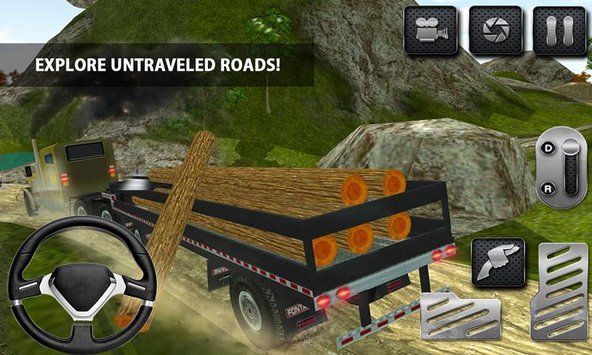 4x4 Logging Truck Real Driver3