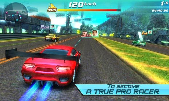Drift car city traffic racer1