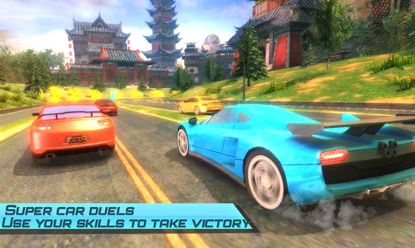 Drift car city traffic racer3