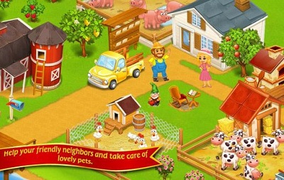 Farm TownHappy City Day Story 2