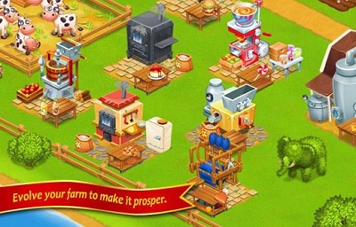 Farm TownHappy City Day Story 5