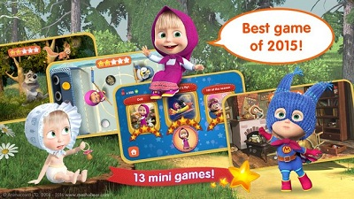 Masha and the Bear Kids Games 1