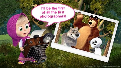 Masha and the Bear Kids Games 4