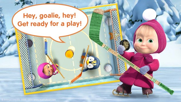 Masha and the Bear Kids Games 5