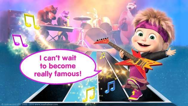 Masha and the Bear Kids Games 7