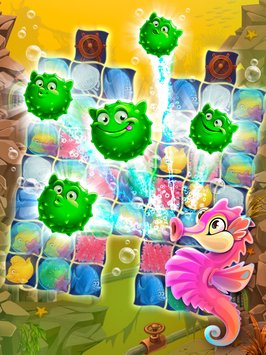 Mermaid puzzle – fish rescue4