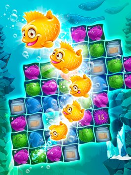 Mermaid puzzle – fish rescue5
