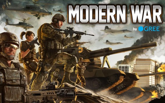 Modern War by GREE 5