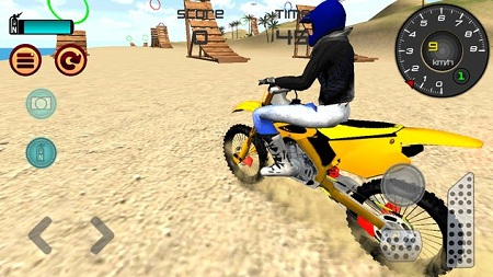 Motocross Beach Jumping 3D1
