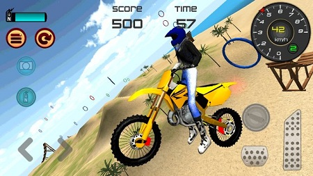 Motocross Beach Jumping 3D2