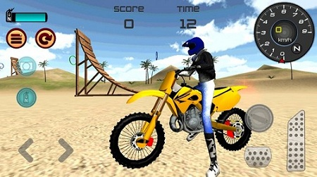 Motocross Beach Jumping 3D4