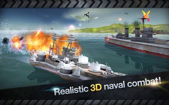 WARSHIP BATTLE3D World War II 3