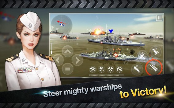 WARSHIP BATTLE3D World War II 4