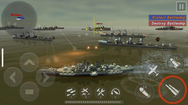 WARSHIP BATTLE3D World War II 5