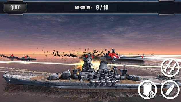 World Warships Combat 5