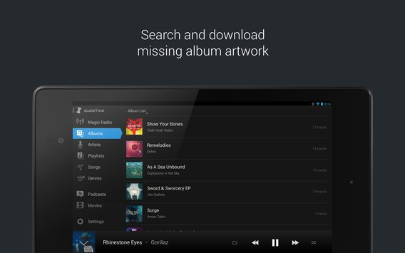 doubleTwist Music Player, Sync2