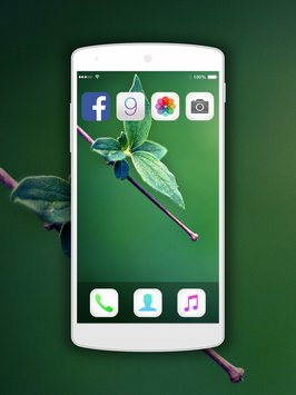 iLauncher for iOS9 iPhone 6s2