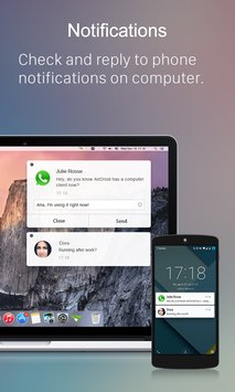 AirDroid File Transfer Manage.