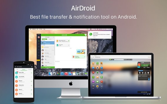 AirDroid File Transfer Manage4