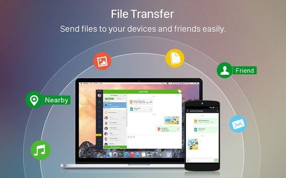 AirDroid File Transfer Manage5