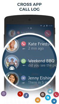 Contacts & Dialer by drupe6