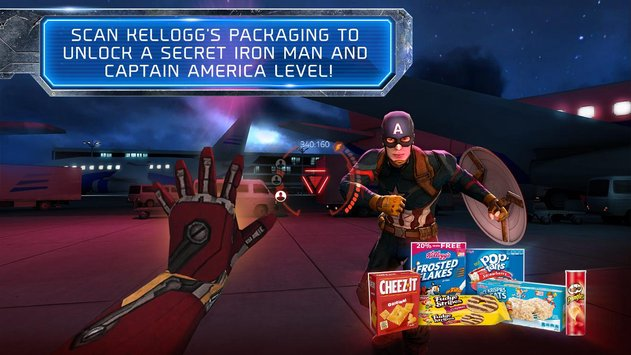 Kellogg Marvel's Civil War VR 3