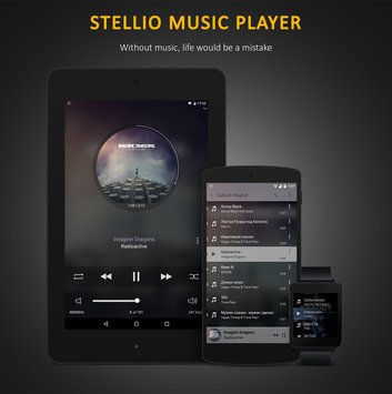 Stellio Music Player.-