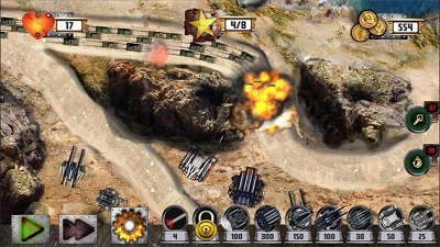 Tower Defense Tank WAR2