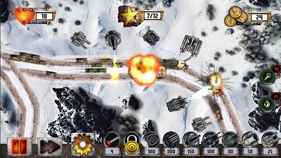 Tower Defense Tank WAR3