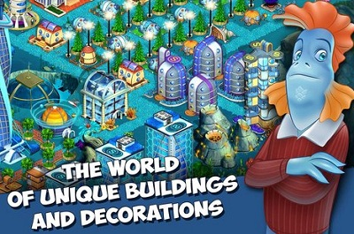 Aquapolis. Free city building3