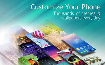 C Launcher – Themes, Wallpaper  logo