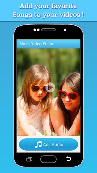 Music Video Editor Add Audio 1
