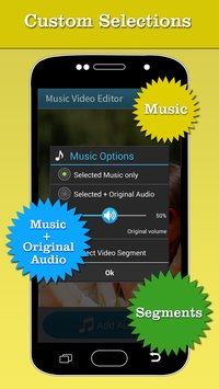 Music Video Editor Add Audio 2