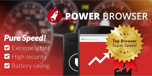 Power Browser 🚀 Fast & Safe logo