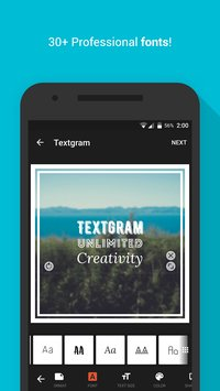 Textgram - write on photos3
