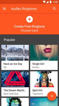 Audiko ringtones for Android 1
