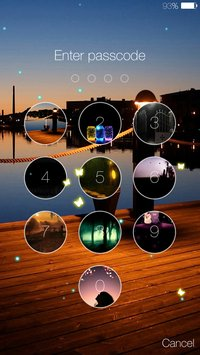 Butterfly locksreen 7
