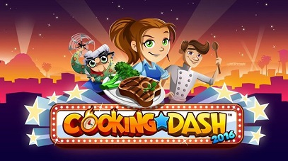 COOKING DASH 2016 logo