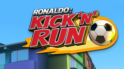 Cristiano Ronald  Kick'n'Run. logo