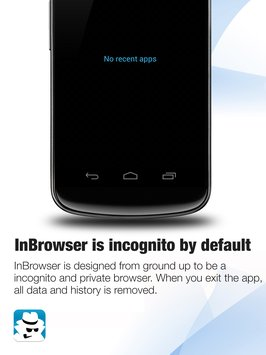 InBrowser - Incognito Browsing 6