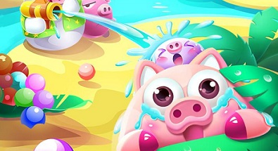 Piggy is Coming-World Island logo
