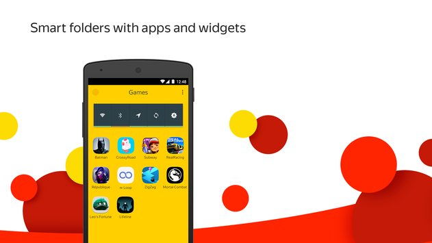 Yandex Launcher & Wallpapers 4