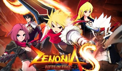 ZENONIA S Rifts In Time logo