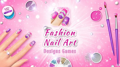 fashion-nail-art-designs-game-logo